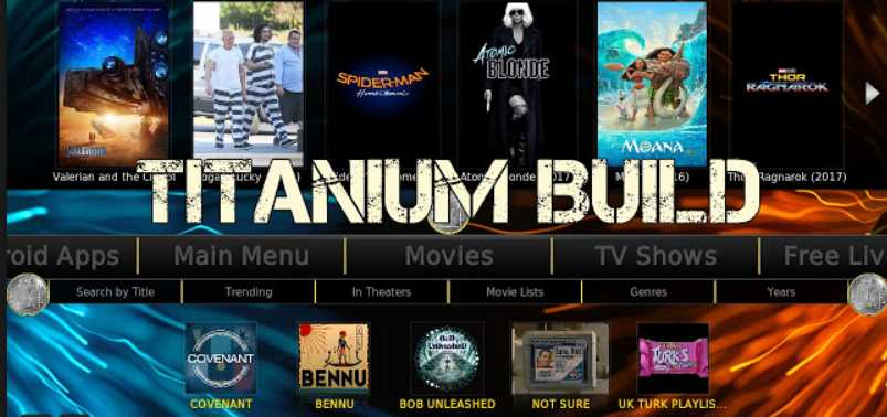 best kodi builds - titanium