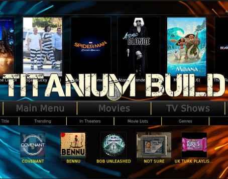 Titanium Build for kodi Krypton {Installation and complete