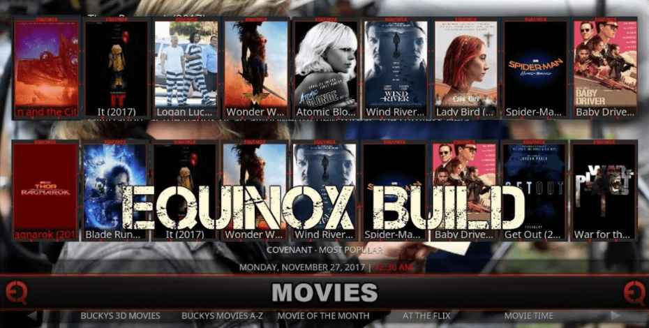 Equinox kodi build