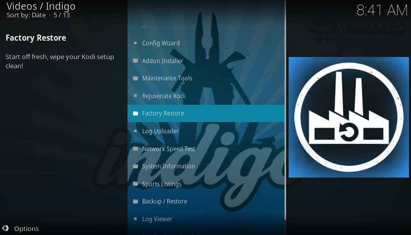 How to uninstall Kodi builds and revert it back as before
